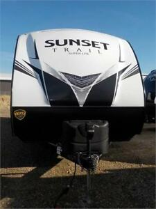 JUST ARRIVED!! NEW 2019 SUNSET TRAIL 259 RL TRAVEL TRAILER (TT)
