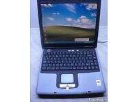 "RM CY25 Laptop (DELL): *14.1"" *Intel P4 1.8GHz CPU *WiFi *Windows XP Pro Activated *Office 2010 *VGC"