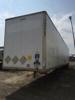 2003 Manac Storage Van, Used Storage Trailer