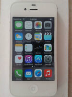 White iPhone 4s like new (Rogers)