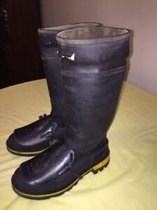 "BAFFIN 15"" GEL SAFETY TOE & PLATE RUBBER BOOTS"