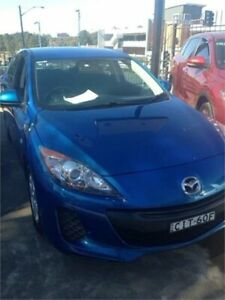2012 Mazda 3 BL Series 2 MY13 Neo Blue 6 Speed Manual Hatchback Wentworthville Parramatta Area Preview