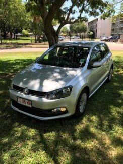 2016 Volkswagen Polo 6R MY16 66TSI DSG Trendline Silver 7 Speed Sports Automatic Dual Clutch