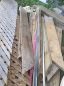 Old Deck Wood for burning/fence/craft