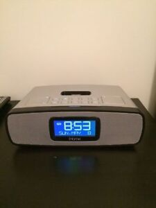 Radio réveil iHome IP90 pour iphone/ipod comme neuf !