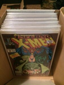 Box of old comic books