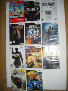 Wii games for sale....
