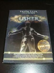 Usher DVD - Truth Tour Behind the Truth - Mint