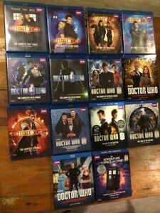 Doctor Who collection ALL BLURAY