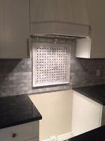 Professional Kitchen/Bathroom Backsplash Installation from $200.
