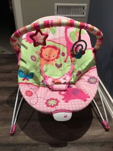 Baby Bouncer with Vibrator - Mint Condition !!!