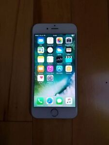 iPhone 6 BLANC 16G avec TÉLUS OU KOODO en excellente condition.