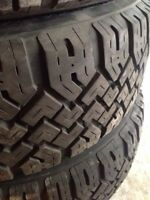 "4 Snow Tires - 205/80R15 - Fit any GM 15"" wheels"