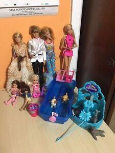 Barbies with Sea World Set