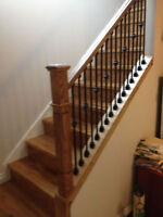 Solace Flooring Solutions-Staircase Resand/Remodel