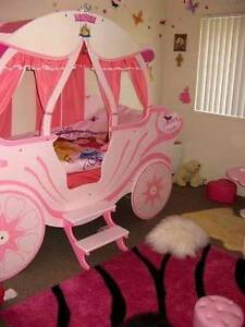 Pink Princess Carriage Bed Upper Coomera Gold Coast North Preview