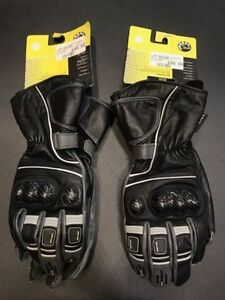 NEW MENS LEATHER RIDING GLOVES
