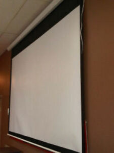 clearance sale ** Projector Screen Fixed Frame, great quality