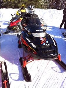 2002 POLARIS INDY 500 SNOWMIBILE RUNS GREAT READY FOR THE TRAILS