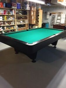 Used Black Crown 1 delivered and installed $2000 Pool Table