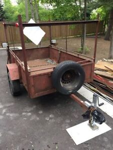 4 x 7.6 feet working trailer