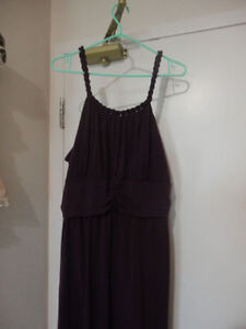 Beautiful Purple Dress w/ Braided Straps