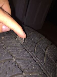 ONLY a season old - Michelin X-ice Xi3 Winter Tires + Rims