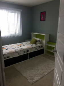 Furnished Bedroom with washroom in south side from may1