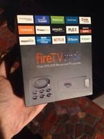 Brand new fire tv stick with kodi install (free movies and shows