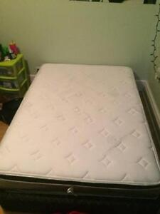 Double Mattress and box spring. Best offer