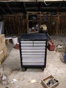 Need Gone 9 Drawer Gray Toolbox. Great Christmas Gift Belleville Belleville Area image 1