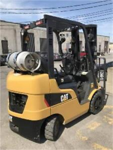Forklift 2012 Caterpillar 2C5000 with sideshift  3 stage  sold