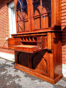 Magnifique Bureau Secretaire / Butler's Desk Antique Empire West Island Greater Montréal image 6