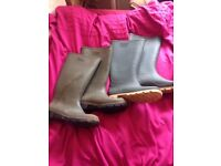 wellies size 8 and 9 adults