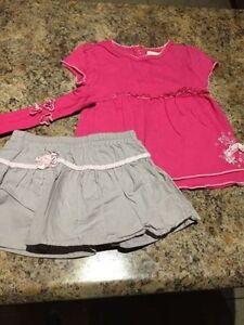 Vêtements été fille 12-24 mois