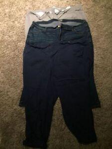 3 Pairs of Size 20 Capris Pants