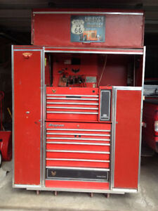 SNAPON TOOLBOX COFFRE D'OUTIL with TOOL MAC BLUEPOINT SNAP-ON