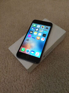 UNLOCKED Iphone 6 64gb Space Grey GREAT CONDITION!