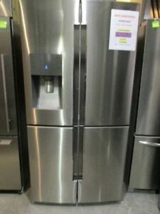"FRIDGES STAINLESS 35"" 36"" COUNTER DEPTH 4 DOOR FLEX ZONE"