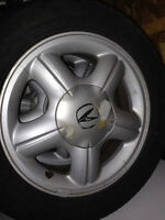 "15"" Original Acura Rims with tires"