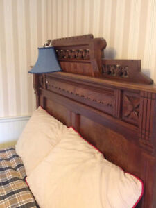 """Antique historic solid oak church pew 54"""" plus other antiques Kitchener / Waterloo Kitchener Area image 6"""
