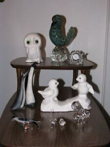 Collection of Assorted Bird Figurines - $5.00 for the lot