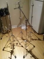Drum parts cymbal stands and shelves