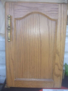 difference size Solid Oak Wood Cabinet Cupboards Appliance Panel