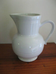 EMILE HENRY France WHITE PITCHER JUG 5-1/2 inches tall Kitchener / Waterloo Kitchener Area image 1