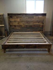 Custom Beds and Headboards- Reclaimed Wood