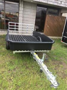 END OF YEAR SALE!  FLOE CARGO MAX 5x8 ALUMINUM UTILITY TRAILER