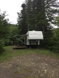 Roulotte camping (fiftweel )