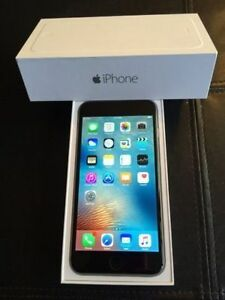 SPACE GREY Apple iPhone 6 PLUS 16GB in Original Box -BELL/VIRGIN