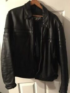 XL Leather Joe Rocket motorcycle jacket, $650+tax new